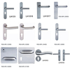 304 Stainless Steel Door Handle with Plate (TH002A)