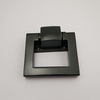 Zinc Alloy Matt Black Door Ring Handle