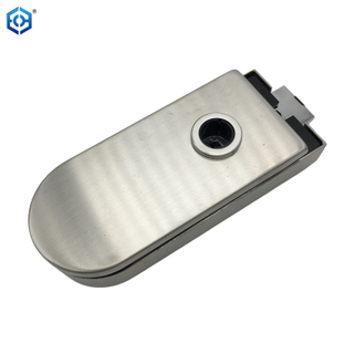 SSS Stainless Steel Round Sliding Glass Door Lock without Lock