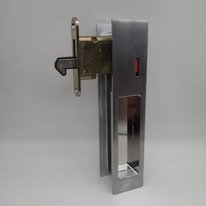 ECH Hardware Indicator Sliding Door Lock Zinc Alloy Sliding Door Lock Wooden Sliding Door Lock