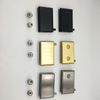 Sn/golden/black Zinc Alloy Glass Pivot Door Hinge