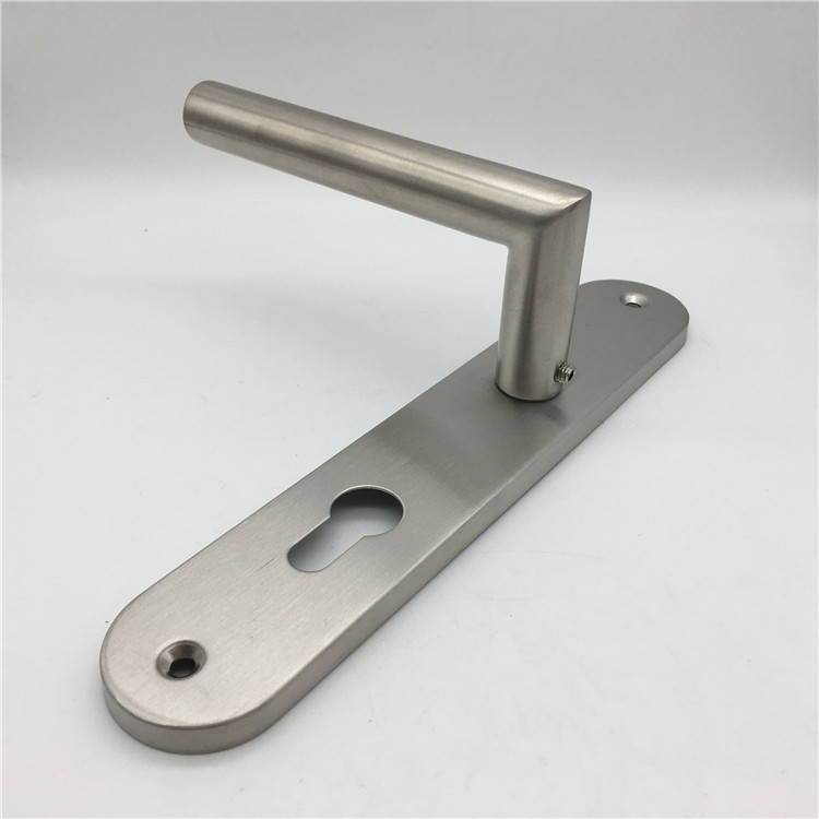 SSS stainless steel long plate internal Door handle