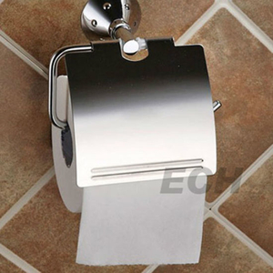 Pss Stainlesss Steel Bathroom Paper Holder with Cover (GHY-8956)