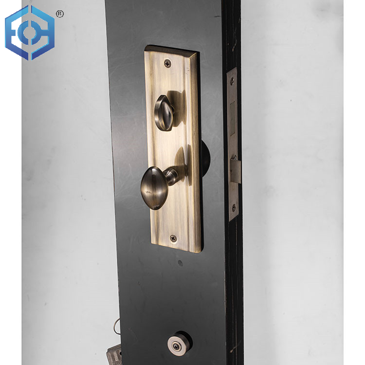 Patent Certificate Fire Proof Certificate OEM AB ET Heavy Duty Grip Handle Set Keyed Entry Door Lock for South America