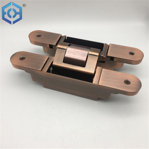 Zinc Alloy 180 Degree 3d Adjustable Heavy Duty Concealed Hinge for Door