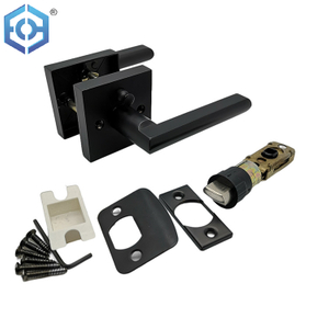 Sn Or Black North American Market Zinc Alloy Quick Release Tubular Lever Lock