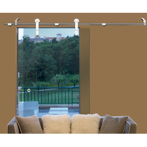 Hight Quality Stainless Steel Frameless Glass Sliding Door Fittings