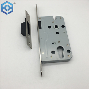 In stock supply security hardened door lock body with magnetic