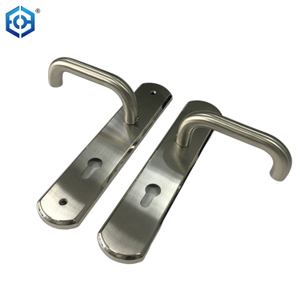 Stainless Steel Tubular Lever Door Pull Handle Door Hardware