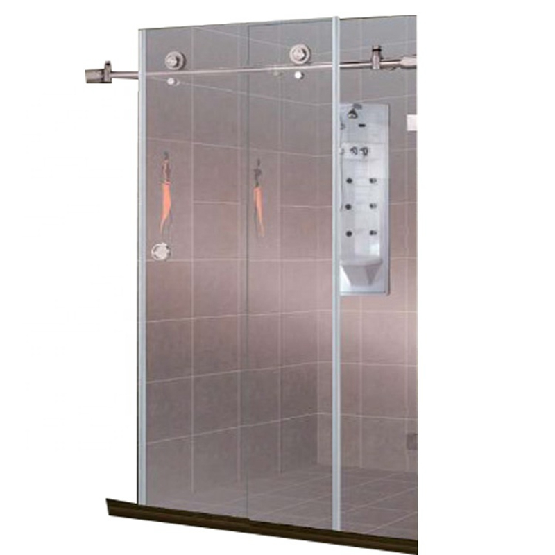 Home use automatic sliding glass door for Shower room