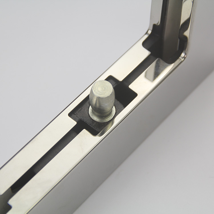 in Stock High Quality Top Corner Door Pivot Patch Fitting for Frameless Glass Door