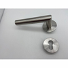 SSS Stainless Steel Easy Install Indoor Antique Bronze Magnetic Door Lever Handles