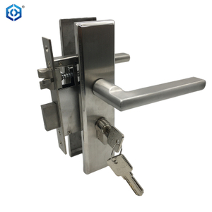 Stainless Steel door hardware security front door handle locks set price