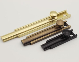 High Quality Brass Types of Door Solid Brass Bolt