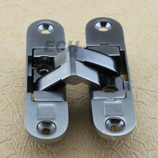 New (CG-003) 180 Degree Sn Zinc Alloy Concealed Hinge
