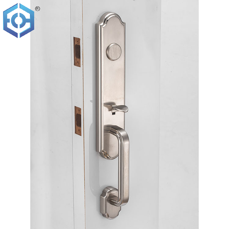 SN Solid zinc alloy die-casting entrance door lock