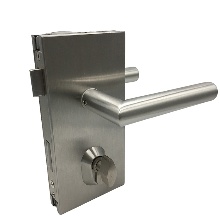 Glass Door Lock with Mortise Lock And Handle