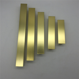 Kitchen Aluminum Profile Long Golden Cabinet 64mm The Metal Aluminium Alloy Furniture Handle