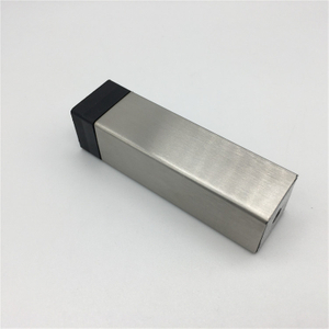 304 stainless steel square shape wall mounted door stopper