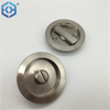 Security Stainless Steel Or Zinc Alloy Bathroom Pocket Sliding Door Safe Lock