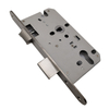 Oval Plate Stainless Steel 304 Lock Body EN12209:2016 Mortise Door Lock for Steel Door Wooden Door