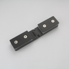Black Stainless Steel Glass Hinge for Glass Door in Satin & Polish Finished