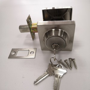 Square SN Wholesale Zinc Alloy Deadlock Deadbolt Lock Lock Door