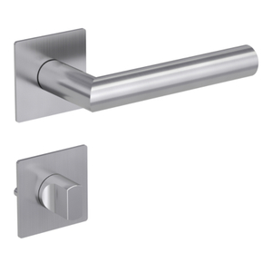 Easy Install Bathroom Washroom Hardware WC Stainless Steel Door Lever Handles