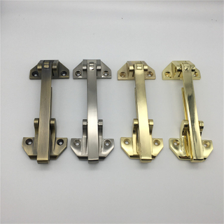 Zinc Alloy Large Anti-theft Clasp for Hotel Safety Door Hardware Security Chain Door Guard