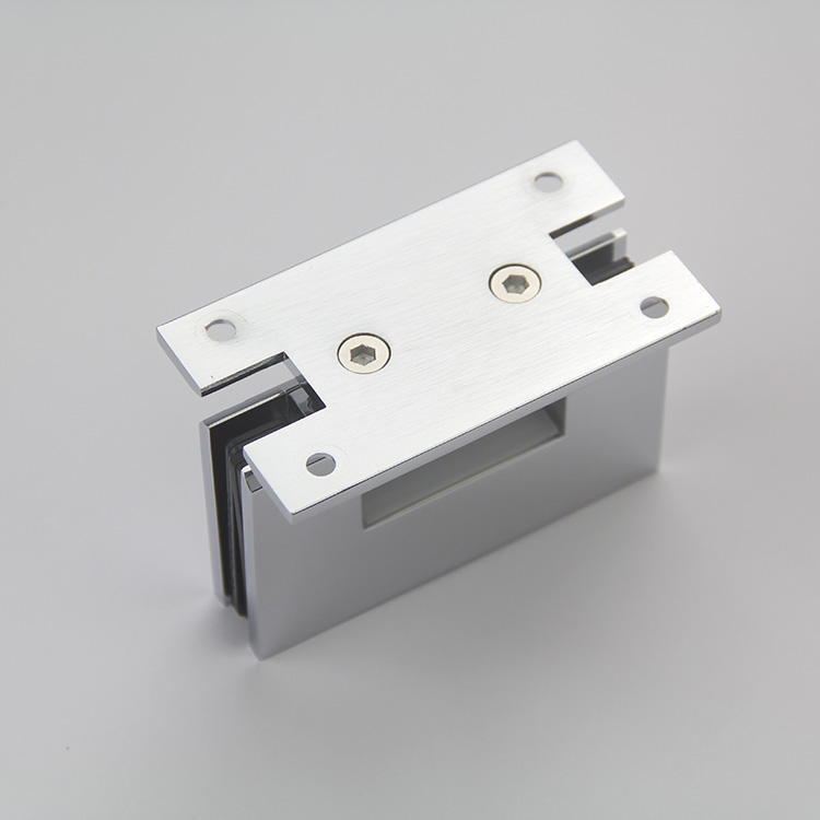 Wholesale Guangdong Factory Supply Good Quality Frameless Shower Glass Door Hinge Hardware for Glass Door Bathroom