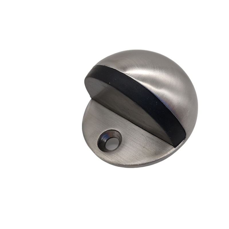 SSS And PSS Stainless Steel Half Moon Inset Heavy Duty Fire Door Stoppers