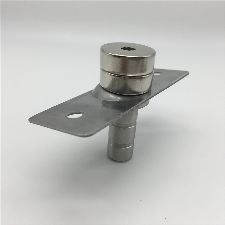 Floor Mounted Metal Stainless Steel 430 Concealed Door Stopper