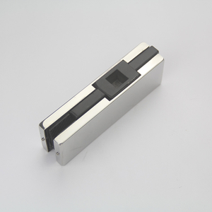 New Style Stainless Steel Mirror Bathroom Glass Door Patch Fitting