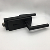 High Quality Black Stainless Steel Frameless Glass Door Lock with Handle