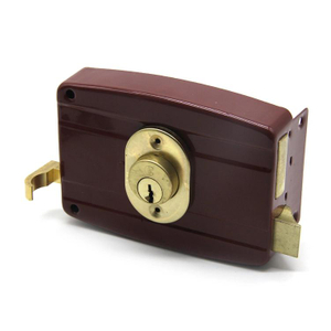 High Safety Door Anti-Theft Lock Night Latch Rim Lock
