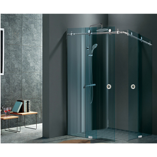 Sliding Glass Door System Shower Door Hardware Stainless Steel Bathroom Glass Fitting