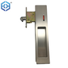 SN Zinc Alloy BK Sliding Wooden Door Bathroom Sliding Toilet Door Lock with Indicator