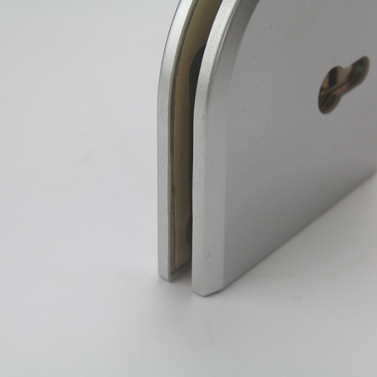 Manufacture of Durable Stainless Steel Or Zinc Alloy Door Lock Frameless Sliding Glass Door Lock