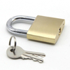 High Quality Sample Available 20-70 mm OEM Travel Anti-Rust Solid Steel Iron Brass Cylinder Brass Padlock