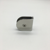 SSS Stainless Steel Round Wall Mount Fixed Panel Glass Clamp