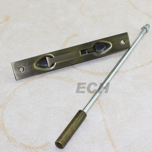Brass Vertical Flush Door Bolt for Double Wooden Door
