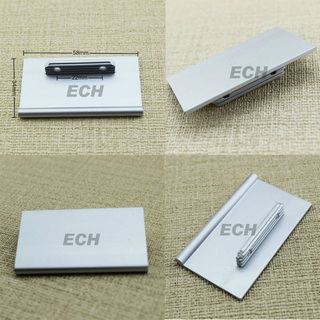 Small Square Sliver Aluminium Alloy Furniture Handle (FHE188)