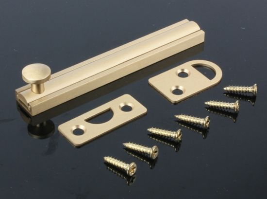 China Supplier Black Us10 Finish Brass Door Bolt
