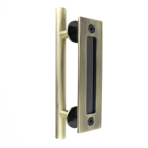 Upgrading 190g AB Carbon Steel Powder Coating Barn Door Handle