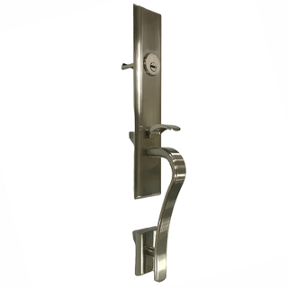 Zinc Alloy Exterior Door Entry Lock with Cylinder And Lock Body Suitable for Entrance Door