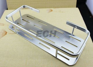 Aluminum Wall Mounted Bathroom Basket (EBB-001)