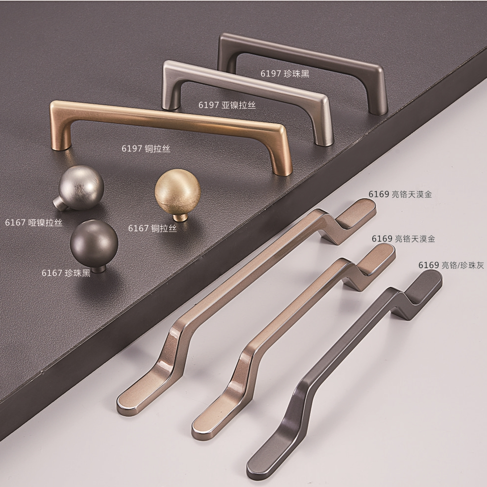 Zinc Alloy Kitchen Cabinet Hardware cabinet knobs and handles