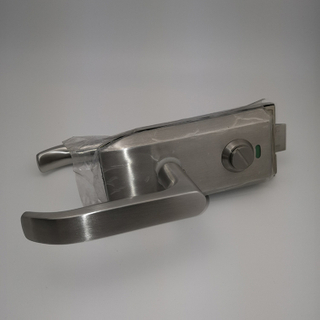 304 Stainless Steel Single Side Glass Door Lock with Indicator