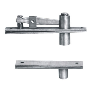Custom Design Stainless Steel 304 And Zinc Plated Steel Pivot Special Hinge For Entrance Door