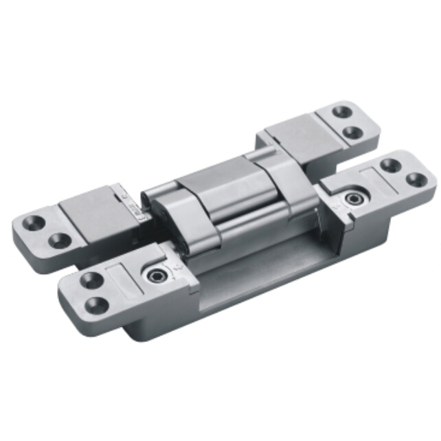 Zinc Alloy 3D Folding Adjustable Door Hinges Wood Door Invisible Hinge Concealed Hinge 3D Folding Adjustable